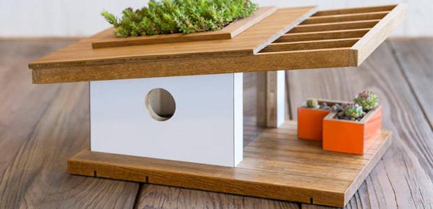 La bauhaus crea casa para pajaros polo de arte - Casa para pajaros ...