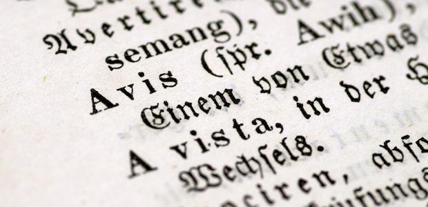 palabras en alemán